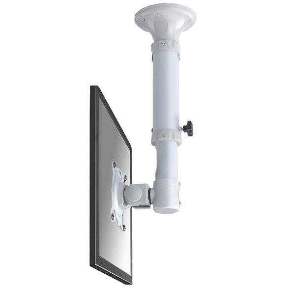 NewStarFPMA-C025 - Draaibare plafondsteun - Geschikt voor tv's van 10 t/m 26 inch - Zilver