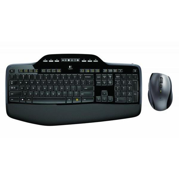 Draadloos toetsenbord met muis, Logitech, MK710