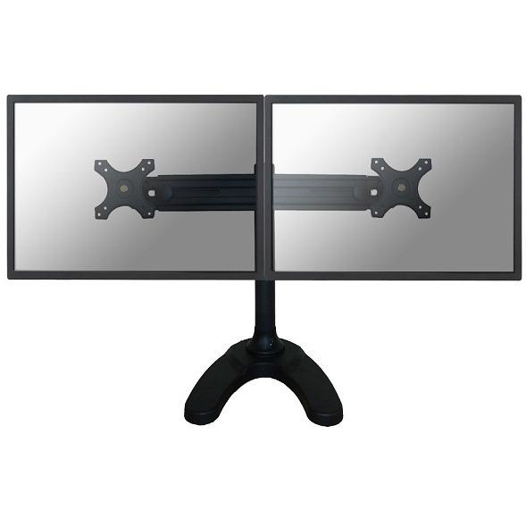 """Image of 2-voudig Monitorvoet 48,3 cm (19"""") - 76,2 cm (30"""") Kantelbaar en zwenkbaar, Roteerbaar NewStar Products FPMA-D700DD In hoogte verstelbaar"""