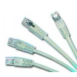 Pp6-0.5m Cable Utp Cat6 Awg24 Stranded Foil Shielded Patch Cord With Moulded Strain Relief 0.5m Grey