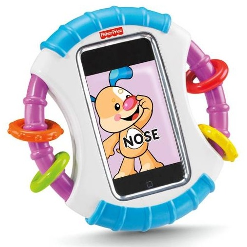 Image of Apple I-phone case Fisher-price