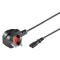 Kabel Strom Eurostecker UK   1,8m