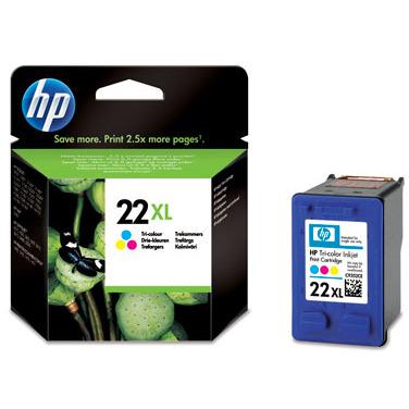 22XL 3-kleuren inktcartridge
