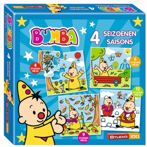 Bumba Puzzel 4 Seizoenen