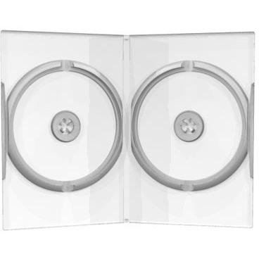 Image of CD/DVD Videobox 2fach Trp 50St