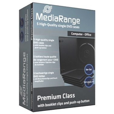 Image of CD/DVD Videobox 1fach Retail 5St