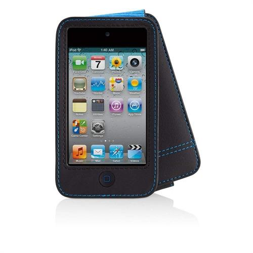 Belkin Case Folio voor iPod touch 4G Leder - zwart/blauw