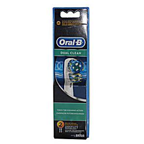 Oral-B Dual Clean EB417 (2 stuks)