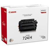 Canon CRG724H - Tonercartridge / Zwart / Hoge Capaciteit