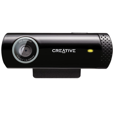Creative Live Cam Chat HD Webcam - Zwart