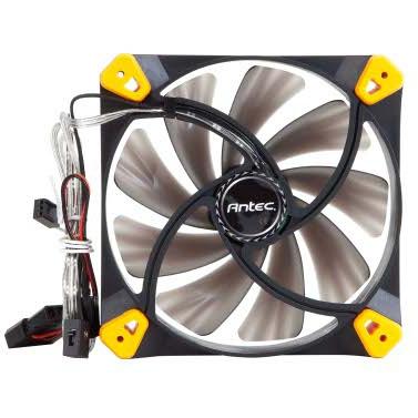 Antec TrueQuiet 120 Fan - Zwart / Geel