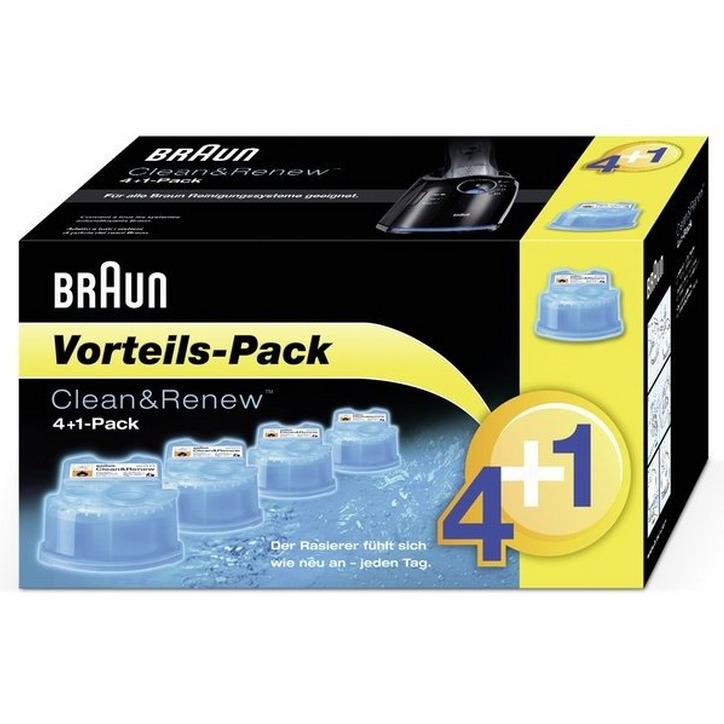 Reserveverpakking, Braun, 'Clean & Renew'