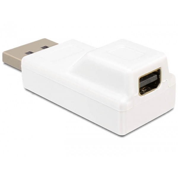 Delock - DisplayPort - Mini DisplayPort Adapter - Wit