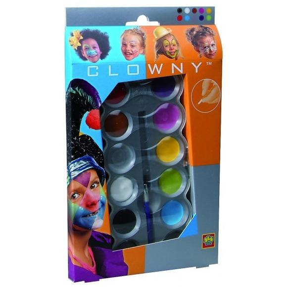 SES Clowny schmink 10 kleuren trendy