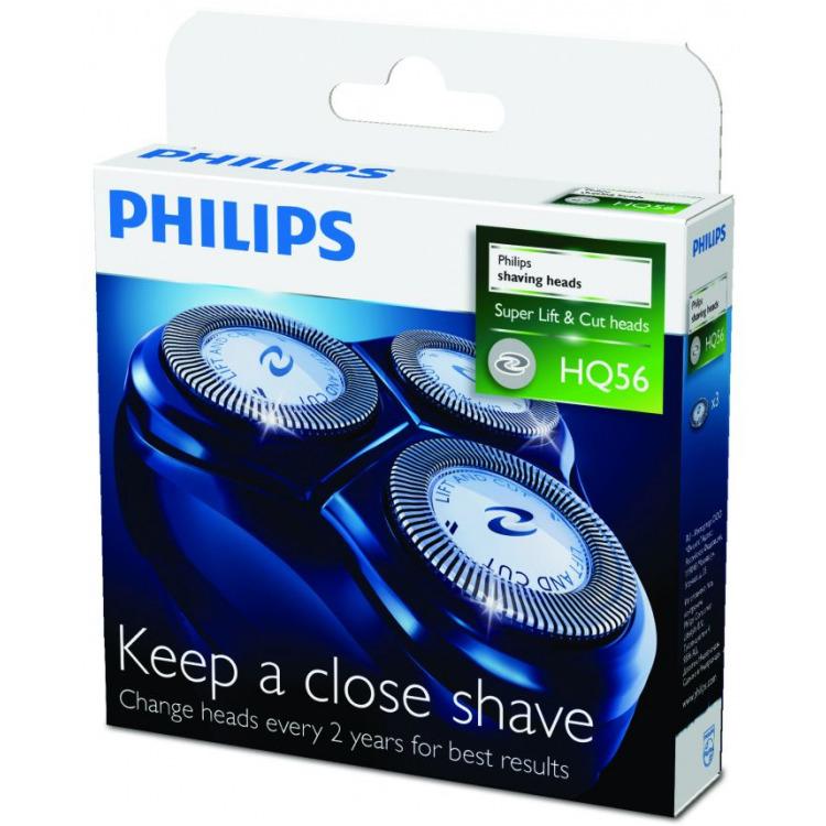 Scheerkoppen, Philips, 'HQ56', set van 3