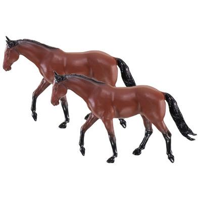 Siku Paarden 2 stuks