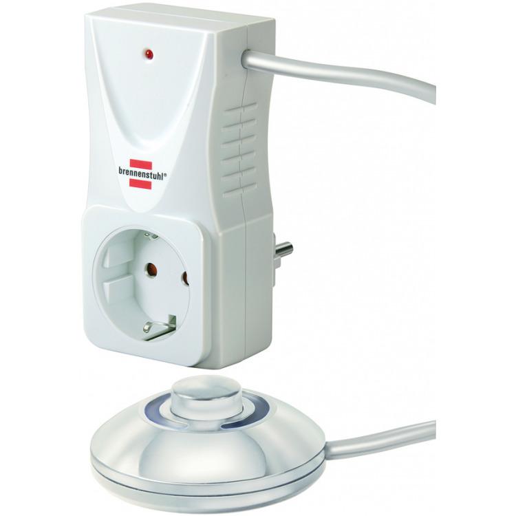 Brennenstuhl Eco-Line Comfort Switch CSA - Adapter met voetschakelaar
