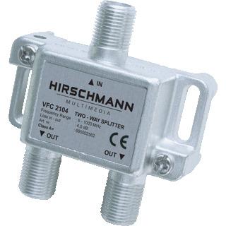 Hirschmann EDC 1000 cai wandcontactdoos
