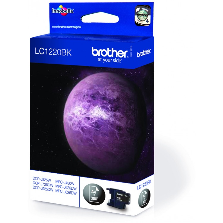 Brother LC-1220BK Black (zwart)