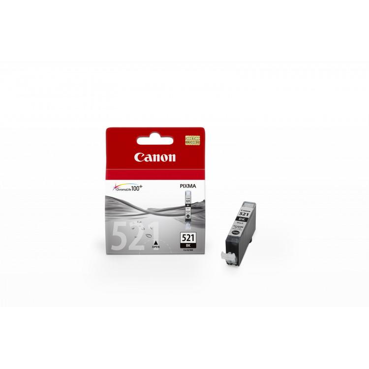 CLI-521BK Inktcartridge Zwart