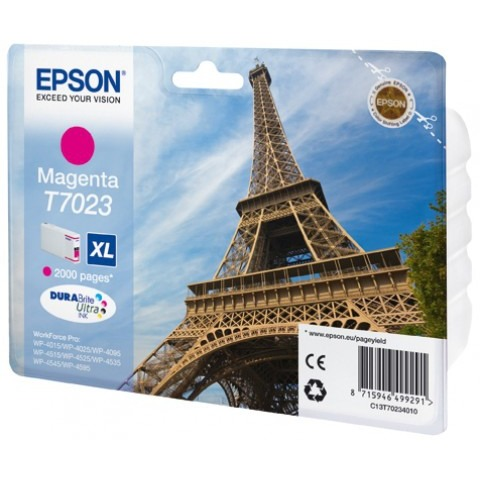 Epson T7023 XL Ink Cartridge Magenta