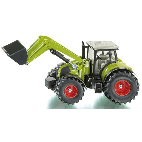 Siku Claas Tractor met Frontlader - Groen