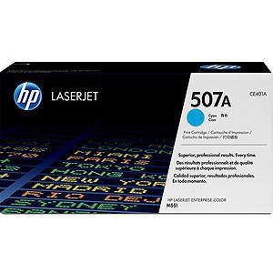 HP 507A LaserJet Toner Cyaan