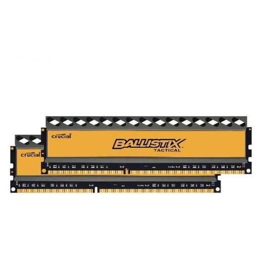 Crucial Ballistix Tactical 8 GB DIMM DDR3-1600 Kit van 2