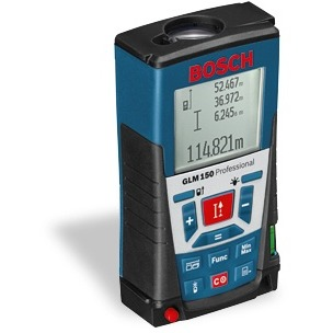 Image of Afstandsmeter GLM 150 SET Blauw
