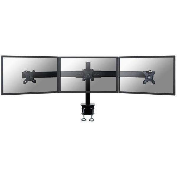 """Image of 3-voudig Monitor-tafelbeugel 25,4 cm (10"""") - 68,6 cm (27"""") Zwenkbaar, Roteerbaar NewStar Products FPMA-D700D3 In hoogte verstelbaar"""