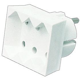 HQ - Stopcontact Splitter - Wit