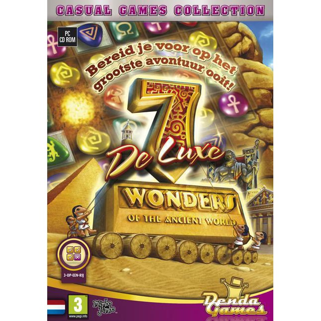 Image of 7 Wonders Of The Ancient World Deluxe