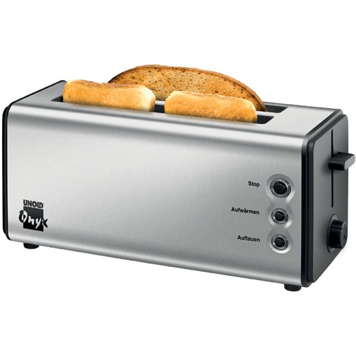 Image of 38915 eds/sw - 4-slice toaster 1400W stainless steel 38915 eds/sw