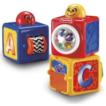 Image of Fisher Price Stappel Blokken