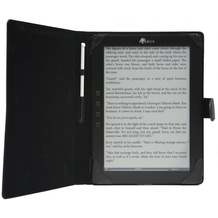 Odyssey Leather Cover ICARUS eXceL Black