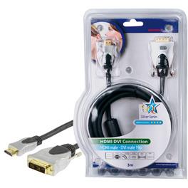 HQ HDMI naar DVI kabel 3m