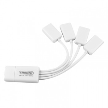 Flexibele 4 Poorts Usb Hub Type Usb 1pc