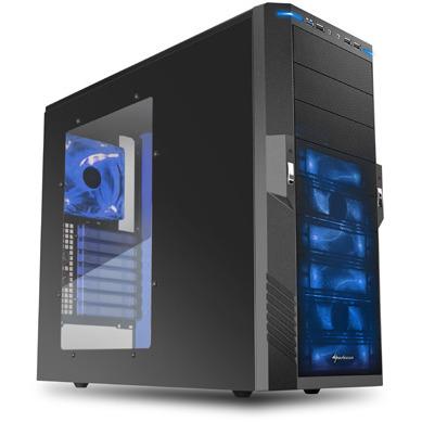 SharkoonT9 Value blue edition (Retail, USB 3.0)
