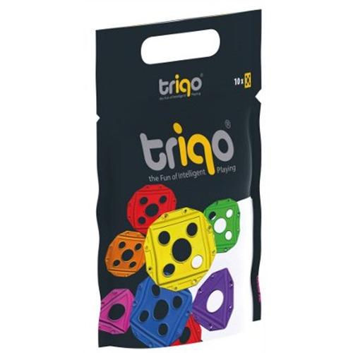 TriQo Booster pack vierkant geel: 10 stuks (010210)