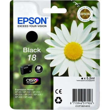 Epson 18 ZWART Inkt