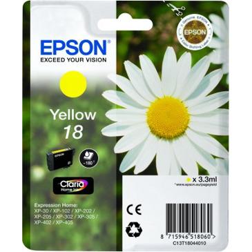 Epson 18 GEEL Inkt