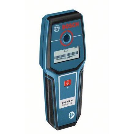 Image of Detectieapparaat Bosch GMS 100 M Detectiediepte (max.) 100 mm Geschikt voor Ferrometaal, Non-ferrometaal, Spanningsvoerende kabels 0601081100