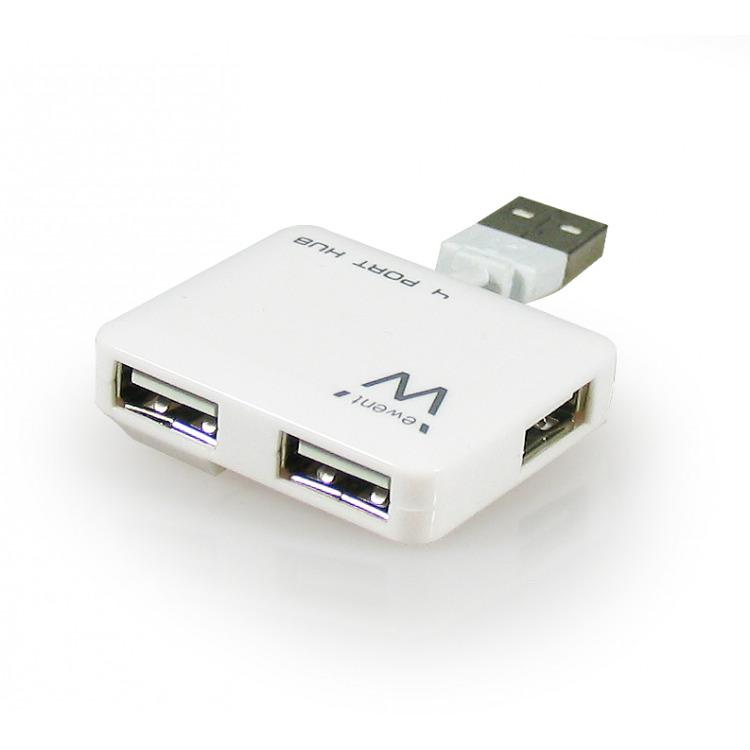 Ewent 4 Poorts Mini USB Hub