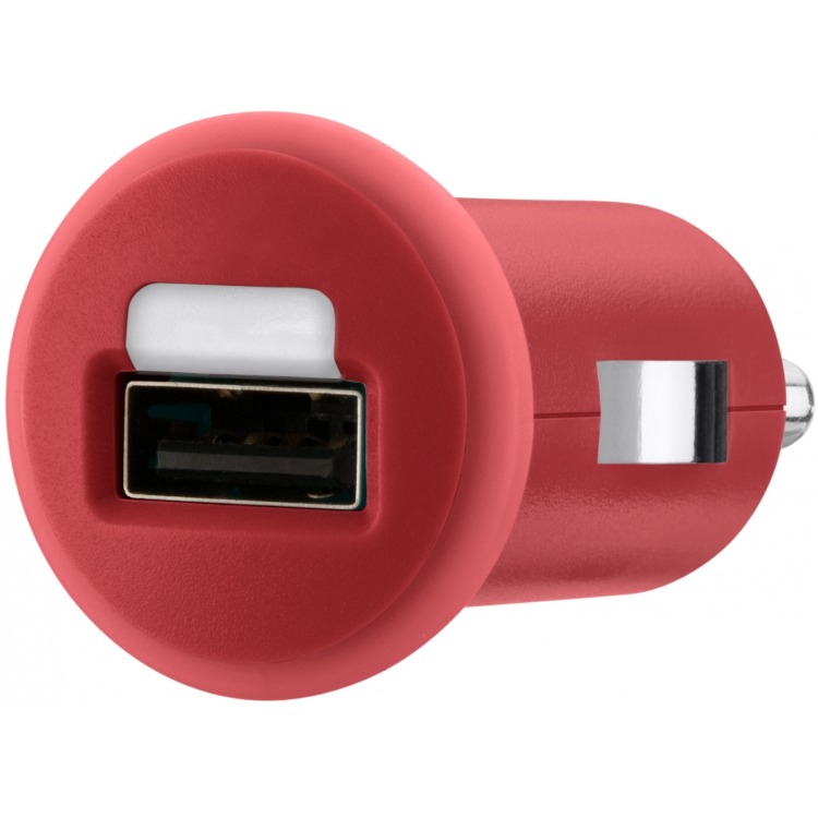 Image of Autolader 1-Uitgang 1.0 A USB Rood