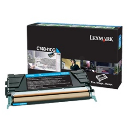 C748 toner cartridge cyan standard