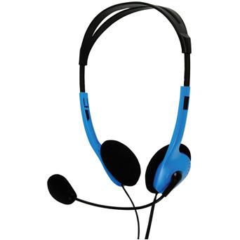 Image of Basicxl Bxl-headset1 bu Draagbare Stereo Headset Blauw