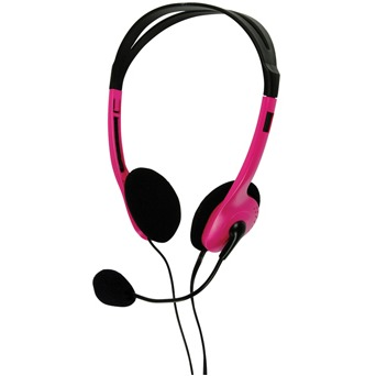 Image of Basicxl Bxl-headset1 pi Draagbare Stereo Headset Roze