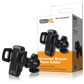 Basicxl Bxl-holder30 Universele Telefoonhouder voor Fiets