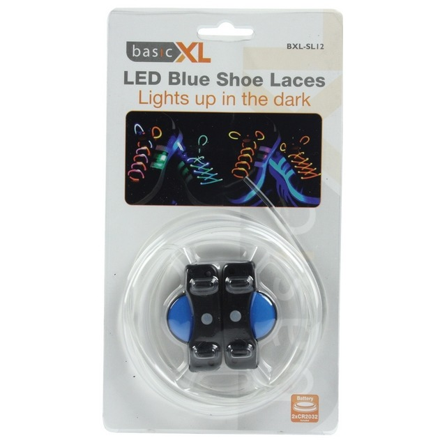 Image of BasicXL LED schoenveters blauw
