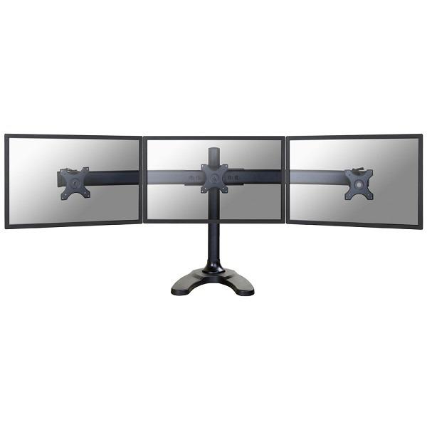 """Image of 3-voudig Monitorvoet 25,4 cm (10"""") - 68,6 cm (27"""") Zwenkbaar, Roteerbaar NewStar Products FPMA-D700DD3 In hoogte verstelbaar"""